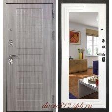 Стальная дверь с зеркалом Кондор С7 Комфорт