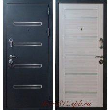 Входная металлическая дверь Зенит-6 Сандал белый