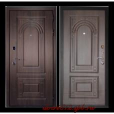 Входная дверь дверной континент Флоренция орех мокко