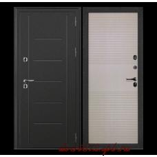 Входная дверь дверной континент термаль беленый дуб - терморазрыв