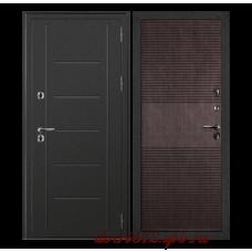 Входная дверь дверной континент термаль венге - терморазрыв