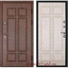 Входная дверь Дверной Континент Консул B (Орех мокко / Дуб белёный)