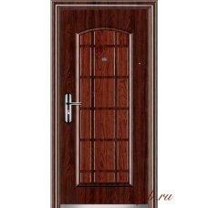 Входная металлическая дверь Двухцветная