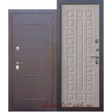 Входная дверь c ТЕРМОРАЗРЫВОМ 11 см Лиственница мокко