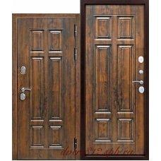 Входная дверь c ТЕРМОРАЗРЫВОМ 13 см Isoterma МДФ/МДФ орех