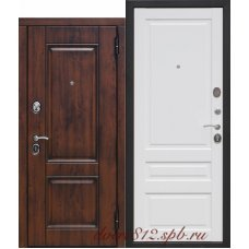 Входная дверь 9,5 см ВЕНА Винорит МДФ/МДФ Белый матовый