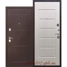Входная дверь 7,5 Гарда антик Белый ясень
