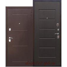 Входная дверь 7,5 Гарда антик Венге