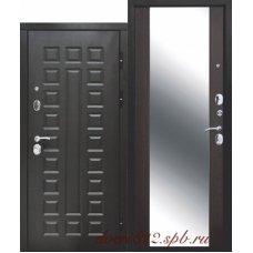 Дверь входная Сенатор зеркало Венге