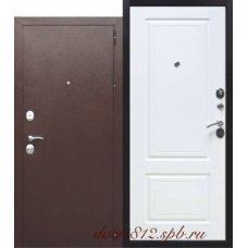 Входная стальная дверь 10 см ТОЛСТЯК РФ Белый ясень