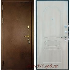Входная металлическая дверь Кондор 7 беленый дуб