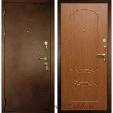 Входная металлическая дверь Кондор 7 орех