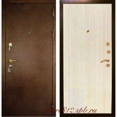 Входные металлические двери Кондор 3 беленный дуб