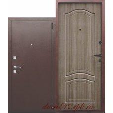 Дверь входная металлическая Доминанта венге тобакко