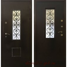 Входная металлическая дверь Оптима Коттедж