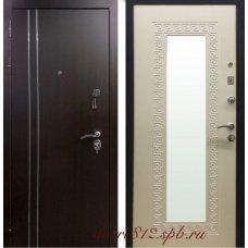 Входная металлическая дверь Чикаго Меттэм зеркало