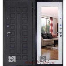 Стальная дверь Райтвер Сенатор Лайф с зеркалом