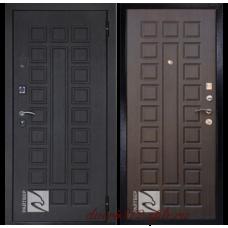 Стальная дверь Райтвер сенатор Лайф венге