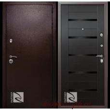 Металлическая дверь Райтвер Одиссей венге