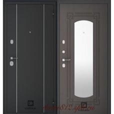 Входная дверь  VolDoor (Волдор) Модерн Зеркало Венге