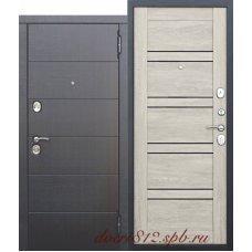 Входная дверь 10,5 см Чикаго царга Дуб шале белый