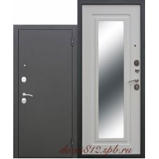 Входная дверь Цитадель Царское зеркало белый ясень
