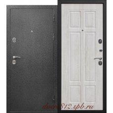 Стальная дверь Аляска серебро Сосна белая