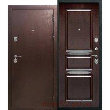 Металлическая дверь Аляска Антик Венге
