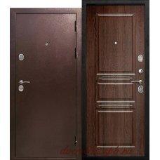 Дверь входная Аляска Антик Орех Темный