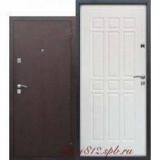 Железная дверь Сопрано Дуб молочный