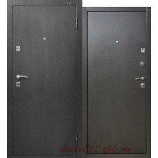 Металлическая дверь Тайга Серебро