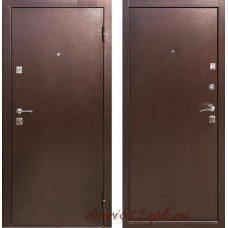 Входная дверь Тайга Медный Антик