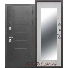 Дверь входная Троя Серебро Макси 10см