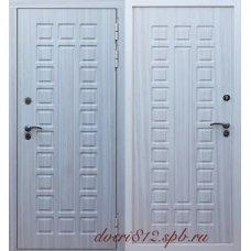 Входная металлическая дверь Кондор Х2 белая