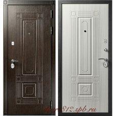 Входная металлическая дверь Кондор Мадрид Беленый дуб