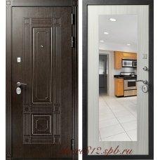 Дверь входная Кондор Мадрид с зеркалом
