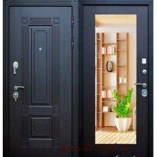 Входная металлическая дверь Мадрид c зеркалом