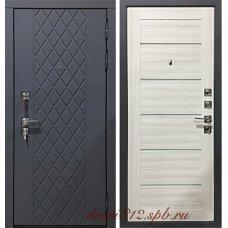 Серая входная дверь Garga S18