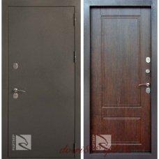 Стальная дверь Сибирь Тиковое дерево