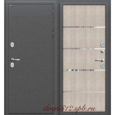 Металлическая дверь Термо-204 Каппучино