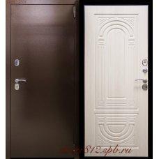 Дверь входная Термо Композит Беленый дуб