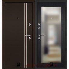 Дверь с терморазрывом Инфинити 3D зеркало Венге