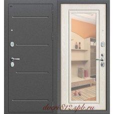 Дверь Groff Р2-216 Антик Серебро/Беленый Дуб