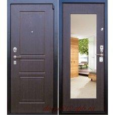 Дверь Зенит 5 Венге с зеркалом (Выбор)
