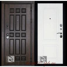 Входная дверь Райтвер Спарта темный дуб / белый
